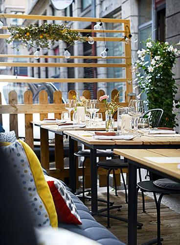 Restaurant Terrasse Ete Les Apothicaires